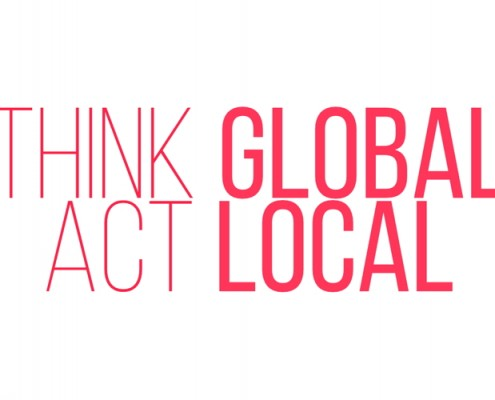 Thing global - act local